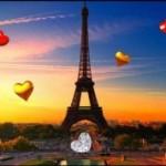 Обои для Андройд: Париж на 14 февраля