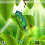 Обои Андройд: хамелеон 3D