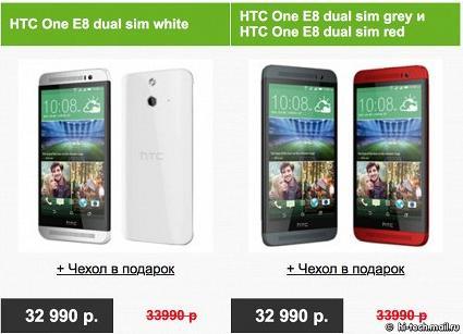 HTC подешевел