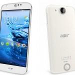 Acer выпустила в продажу три новых смартфона