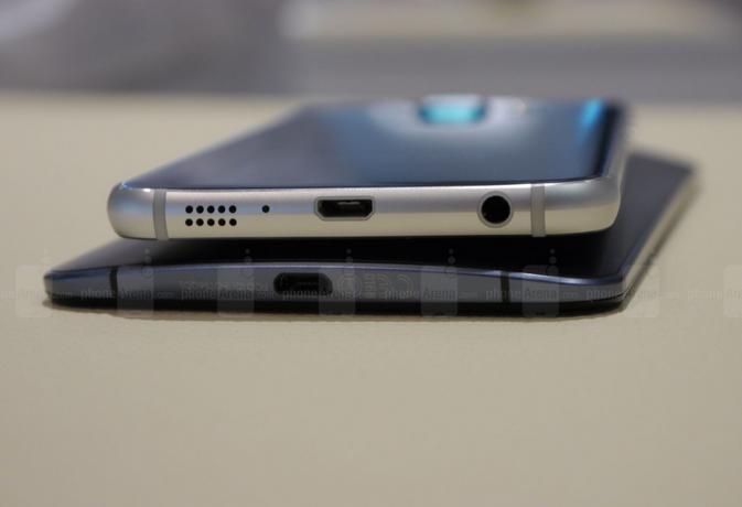 смартфоны Galaxy S6 и Nexus 6