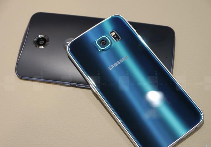 Galaxy S6 и Nexus 6 2015 года