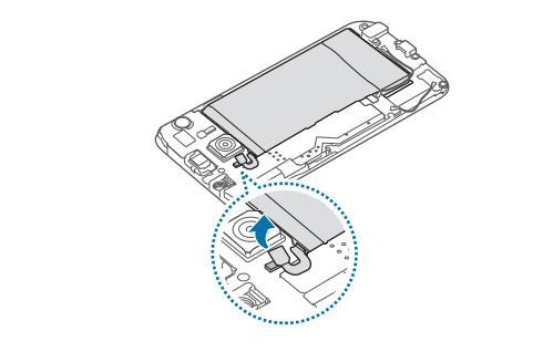 контакт аккумулятора S6