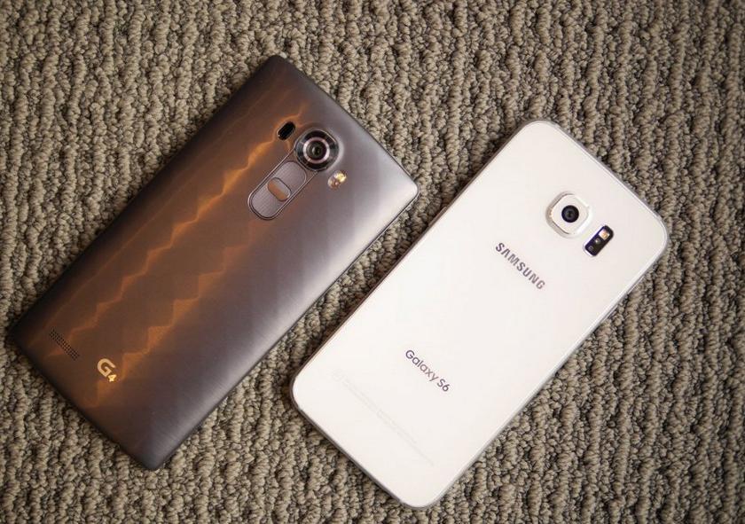 LG G4 сравнение с GALAXY S6