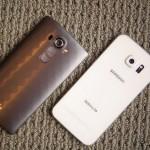 Фото сравнение нового LG G4 с конкурентами