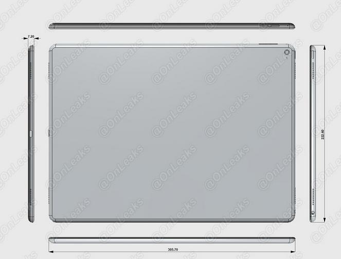 iPad Pro размеры