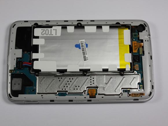 Samsung Galaxy Tab 3 без крышки