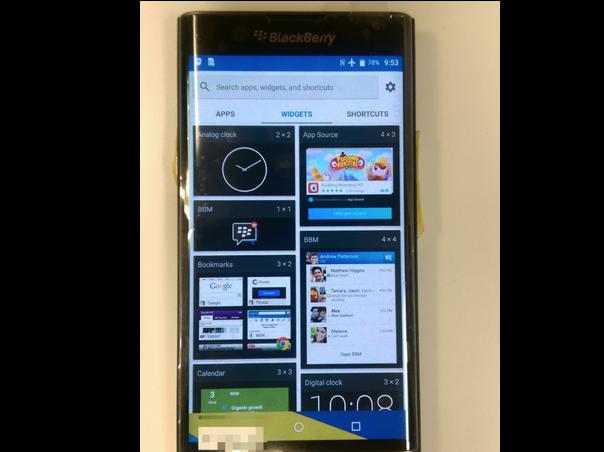 будущий BlackBerry Venice на Андройде