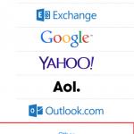 Как добавить собственную почту в iPhone 6(на отдельном домене)