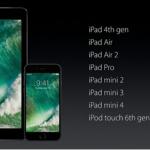 Список девайсов поддерживающих новую iOS 10