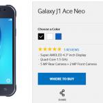 Теперь официально Samsung Galaxy J1 Ace Neo с монитором 4.3″