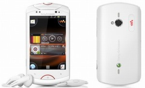 Sony Ericsson Live Walkman специализирует телефон на музыке