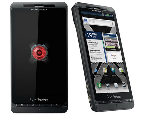 Высоко качественный экран и сильный процессор в Motorola Droid X2