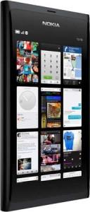 Новый телефон Nokia N9 с HD видео и 3,9-дюймовым экраном