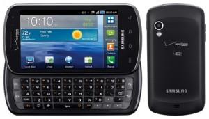 Выпущенный по заказу компании Verizon: Samsung Stratosphere