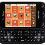 Samsung Brightside имеет сенсорный экран и QWERTY-клавиатуру