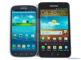 Сравнения - Samsung Galaxy S III VS Samsung Galaxy Note