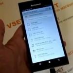 Видео обзор нового флагманского телефона Lenovo K900 на русском