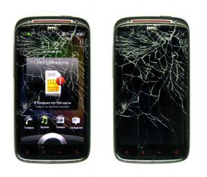 Заменить стекло на HTC Sensation