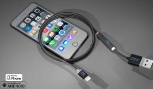 В продаже появился кабель, который способен в 2 раза быстрее заряжать смартфоны