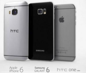 Фото сравнение HTC ONE (M9), Samsung Galaxy S6 и iPhone 6