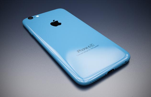 вид iPhone 6c