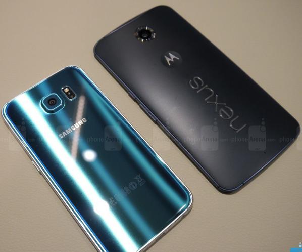 новые Galaxy S6 и Nexus 6