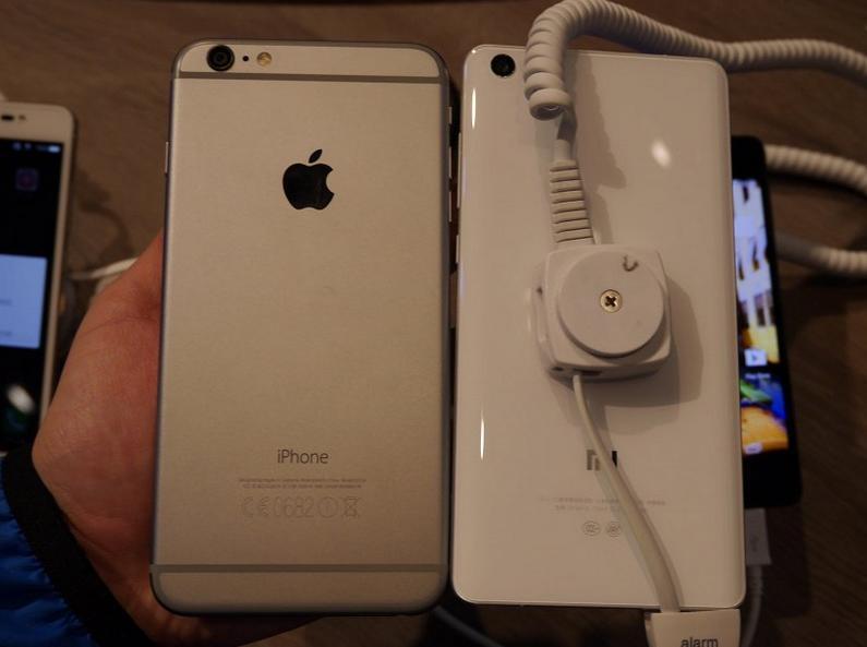 Xiaomi Mi Note Pro и iphone 6 сравнение