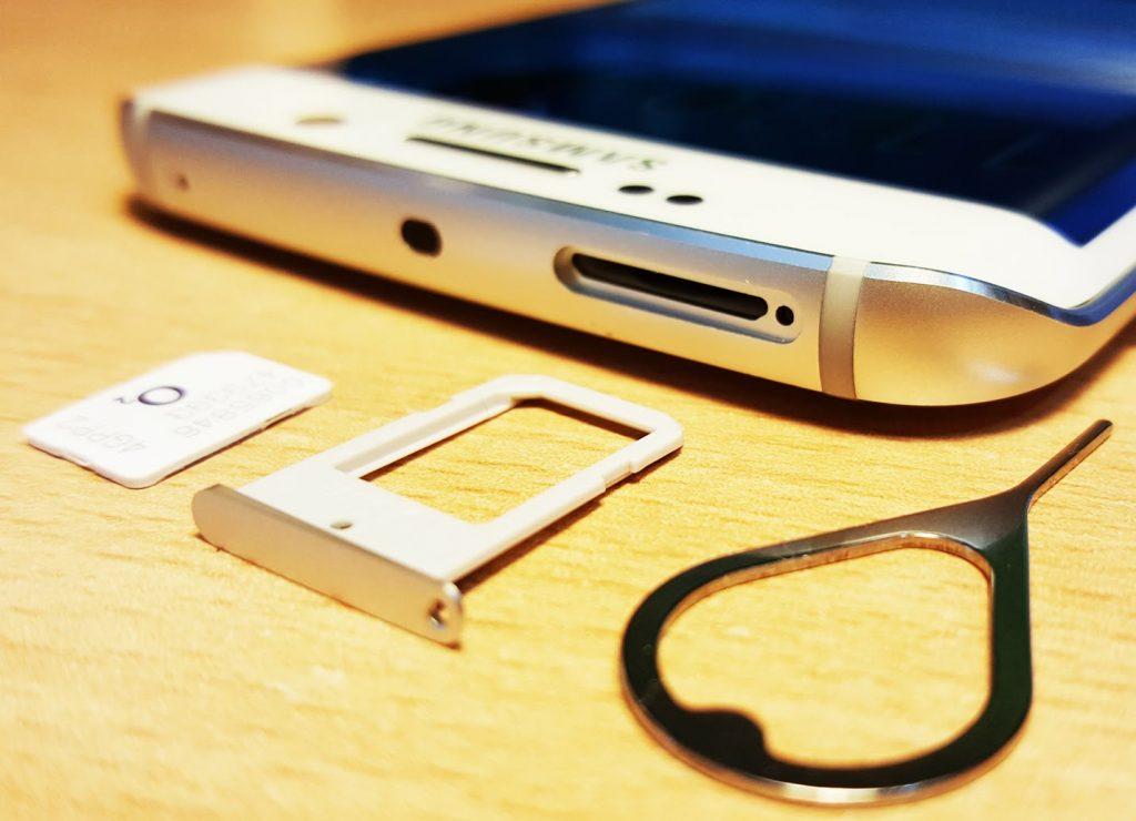 Как вставить SIM и включить 4g на Samsung Galaxy S6 EDGE?