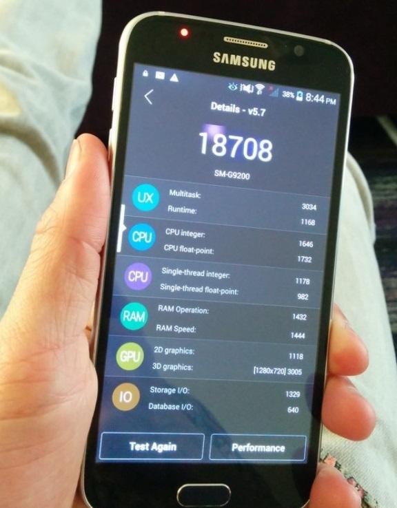 Поддельный Samsung Galaxy S6 работает на MediaTek