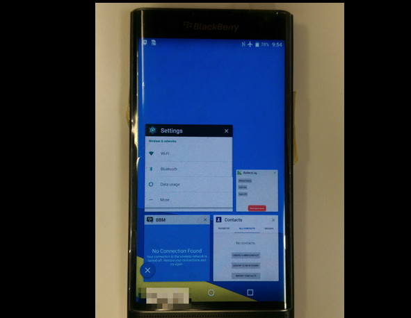 новый смартфон BlackBerry Venice