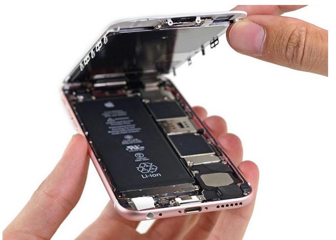 разбор нового iphone 6s