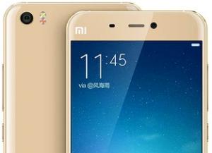 Начался предзаказ на Xiaomi Mi 5 — официальные цены на мартфон