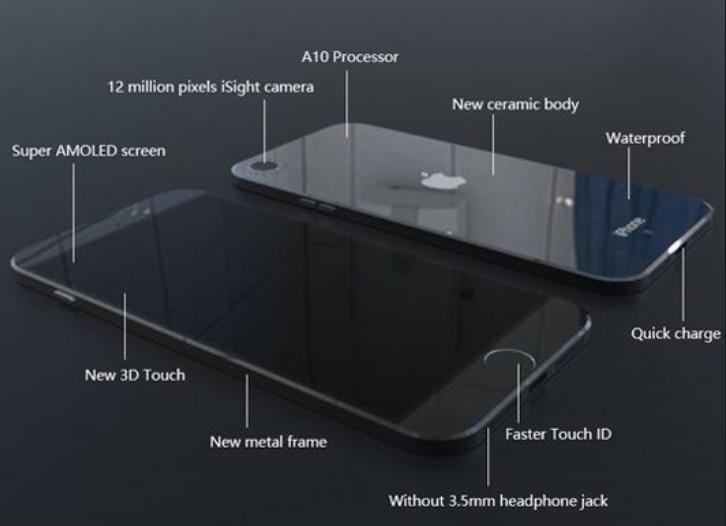 крышка Apple iPhone 7