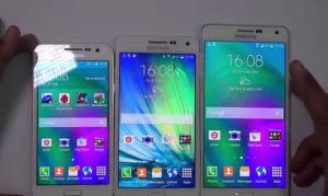 Появились фотографии Samsung Galaxy A5 и Samsung Galaxy A7 второго поколения