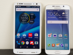 Сравнение характеристик Motorola DROID Turbo 2 и Samsung Galaxy S6