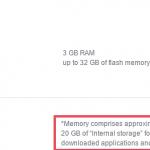 Новые Sony Xperia X и X Performance 32 GB дают использовать лишь 20 Гб памяти