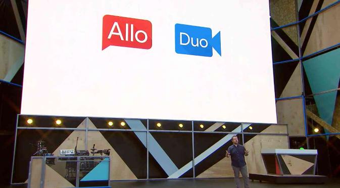 Новые приложение Google Allo и Duo для обмена сообщениями и видео под Android и iOS