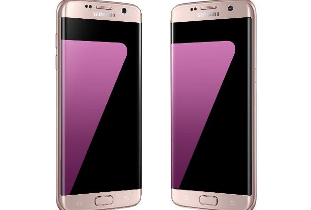Розовый Samsung Galaxy S7 неофициально доступен в США