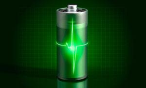 «чистая» батарея фото