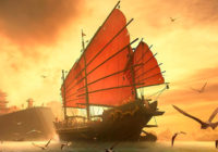 Необычная яхта