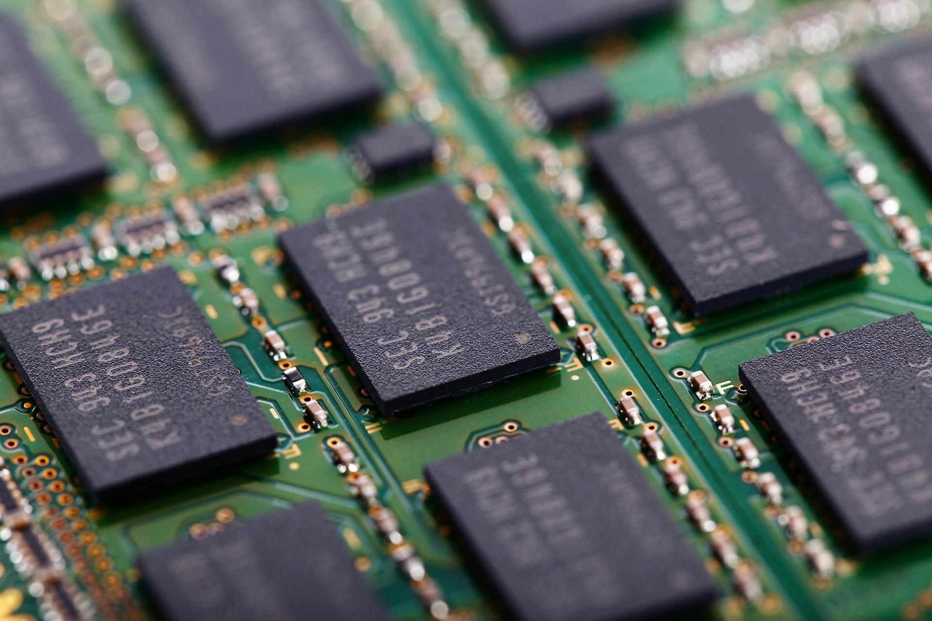 оперативная память NAND и DRAM