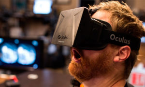 Виртуальный шлем Oculus Rift от Sony
