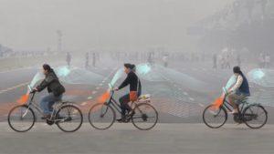 Велосипеды очищающие воздух