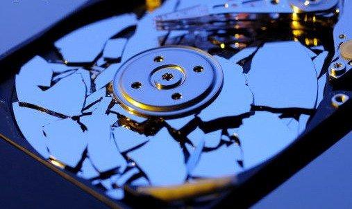Сломанный жесткий диск