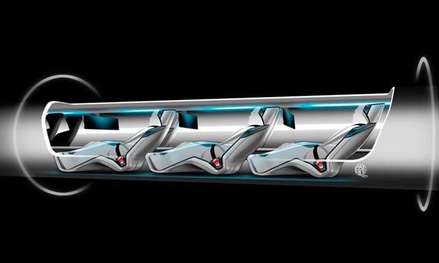 Hyperloop внутри