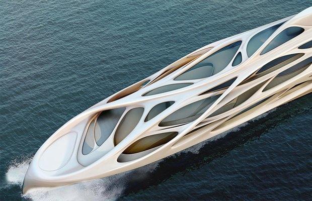 Яхта от Zaha Hadid