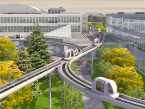 ULTra PRT - новый вид экономичного транспорта