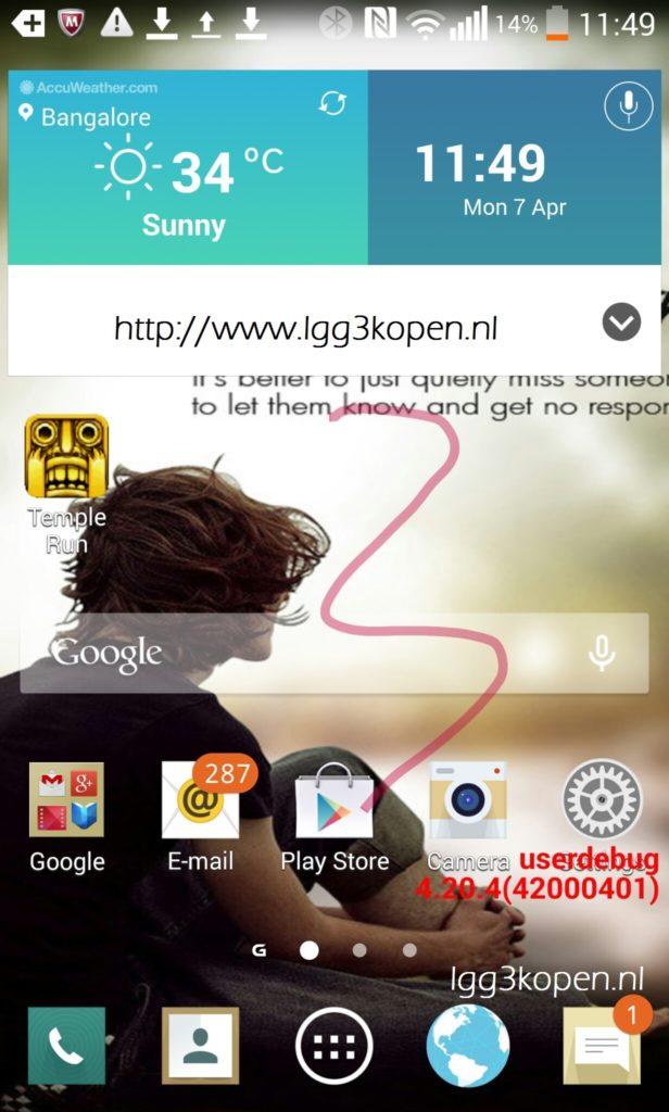 смартфон LG G2 фото 3