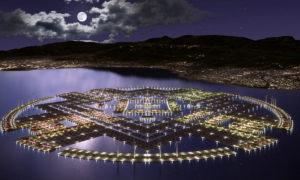Плавучий город на Гаити